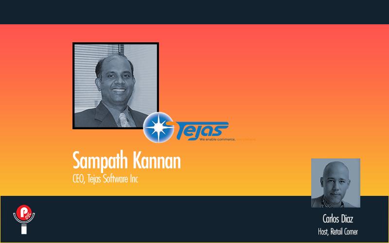 Retail Corner Podcast - Tejas Software, Sampath Kannan